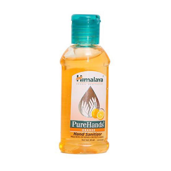 Buy Himalaya Pure Hands Sanitizer Litchi 50ml Bottle Online At
